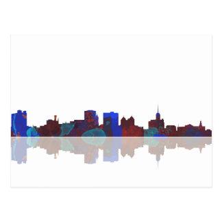 Buffalo New York skyline Postcard