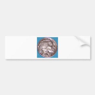 Buffalo Nickel Bumper Sticker