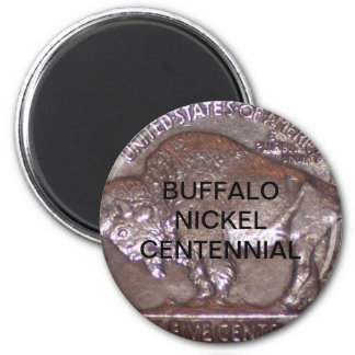 Buffalo Nickel Centennial Magnet