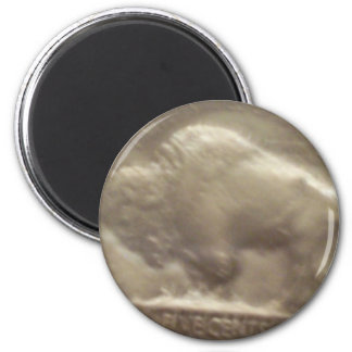 Buffalo Nickel Magnet