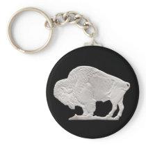 buffalo nickle keychain