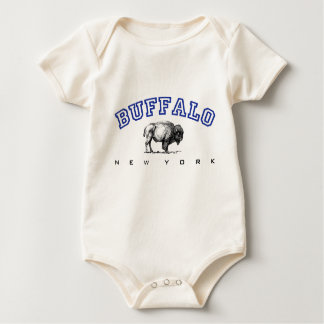 Buffalo, NY - Bison Baby Creeper