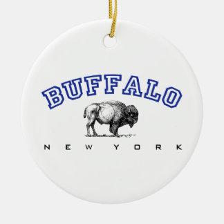 Buffalo NY Ceramic Ornament