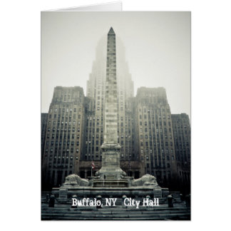 Buffalo, NY   City Hall Card