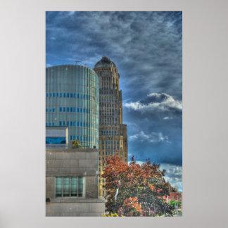 Buffalo NY City Hall Poster