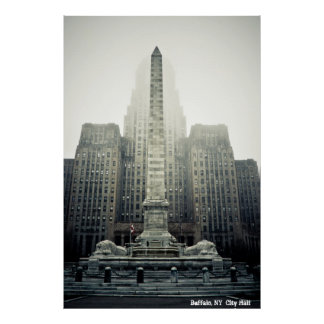 Buffalo, NY  City Hall Poster