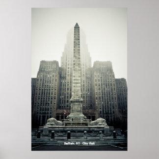 Buffalo, NY   City Hall Print
