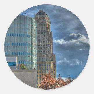 Buffalo NY City Hall Sticker