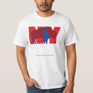 BUFFALO NY (red) T-shirts