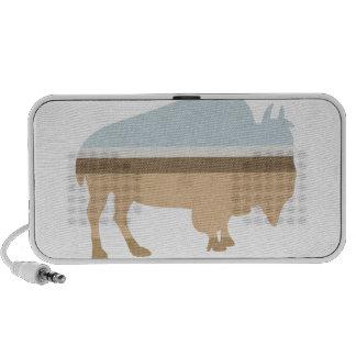 Buffalo on a Plain Speaker System