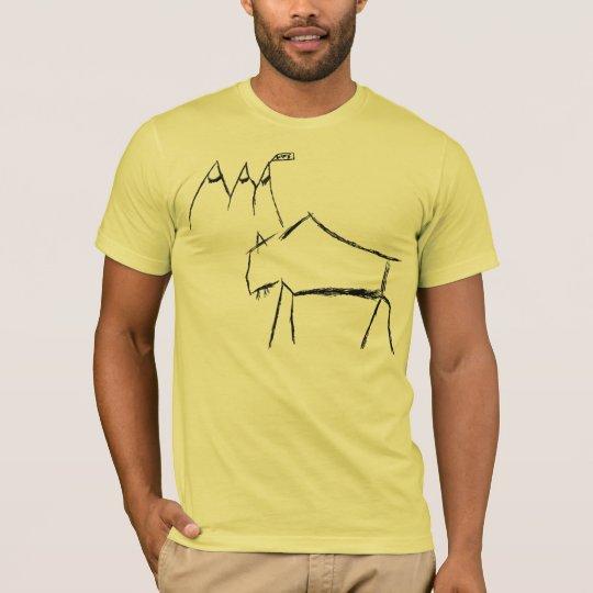 Buffalo on Mt. Life T-Shirt