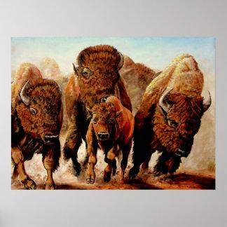 "Buffalo ""On The Run"" Poster"