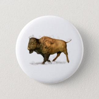 Buffalo Pinback Button