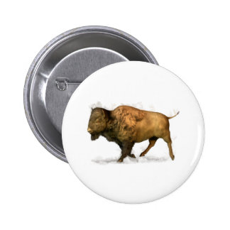 Buffalo Pinback Button
