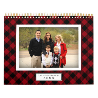 Buffalo Plaid | 2018 Photo Calendar