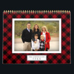 "Buffalo Plaid | 2019 Photo Calendar<br><div class=""desc"">Share a favorite memory on each page of this photo calendar,  perfectly framed by a buffalo plaid background in seasonal colors. Personalize the front with an additional photo and your family name.</div>"