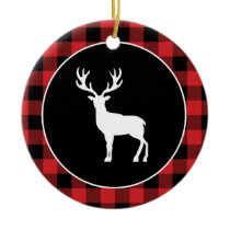Buffalo Plaid Christmas Ornament