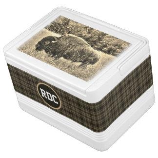 Buffalo & Plaid Cooler