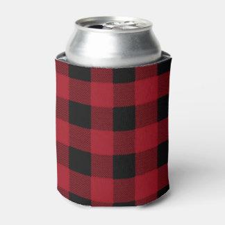 Buffalo Plaid, Lumberjack Plaid, Can Cooler