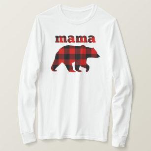 9656fc22 Buffalo plaid Mama Bear