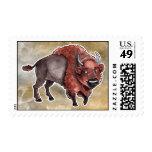 Buffalo Postage Stamp