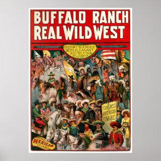 Buffalo Ranch - Print