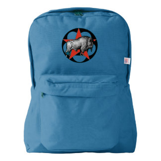 Buffalo Red Star Backpack