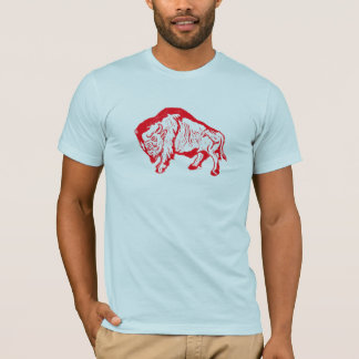 Buffalo: red T-Shirt