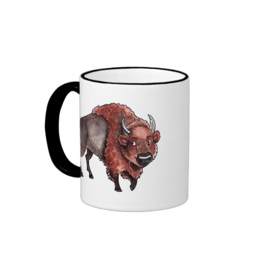 Buffalo Ringer Coffee Mug