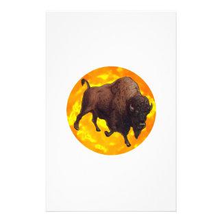 Buffalo Rising Stationery