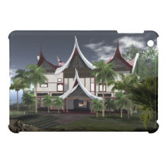 Buffalo Roof Minangkabau Tropical House Ipad Mini Cover For The Ipad Mini at Zazzle