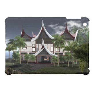 Buffalo Roof Minangkabau Tropical House iPad Mini Case For The iPad Mini