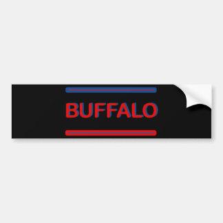 Buffalo Sandwich Bumper Sticker