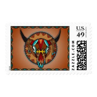 Buffalo Shield Stamp