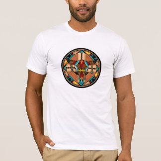 Buffalo Skull Shield T-Shirt