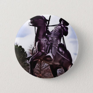 Buffalo Soldier Monument. Pinback Button