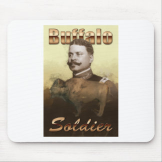 Buffalo Soldier Mouse Pad