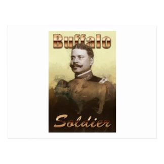 Buffalo Soldier Postcard