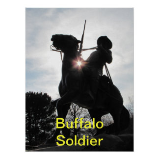 Buffalo Soldier Poster