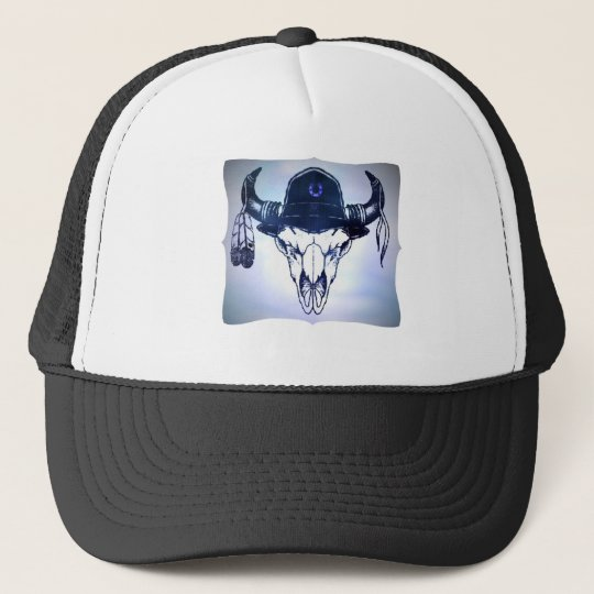 BUFFALO SOLDIER TRUCKER HAT