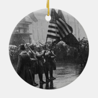 Buffalo Soldiers 367th Infantry African American Ceramic Ornament