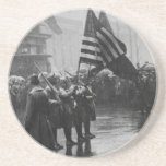 Buffalo Soldiers 367th Infantry African American Coasters
