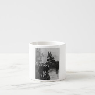 Buffalo Soldiers 367th Infantry African American Espresso Cup