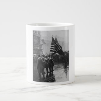 Buffalo Soldiers 367th Infantry African American Large Coffee Mug