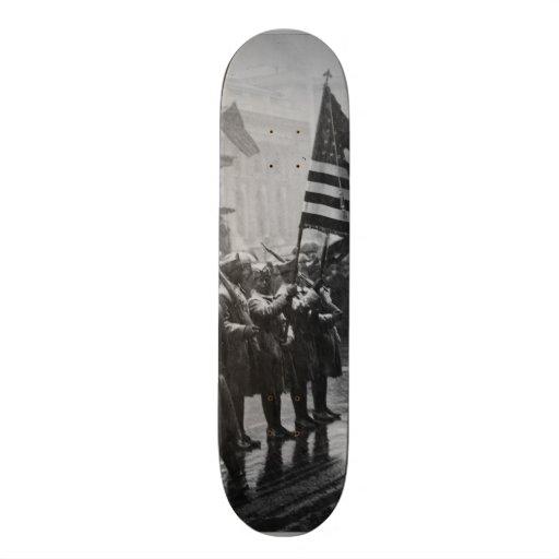 Buffalo Soldiers 367th Infantry African American Custom Skate Board