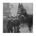 Buffalo Soldiers 367th Infantry African American Ceramic Tile