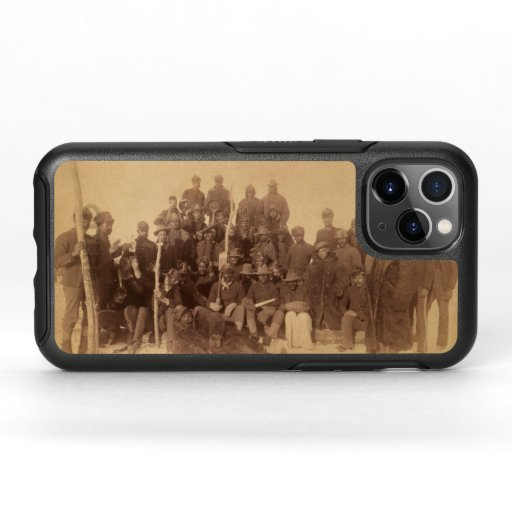 Buffalo Soldiers, First Black Regiment OtterBox iP OtterBox Symmetry iPhone 11 Pro Case