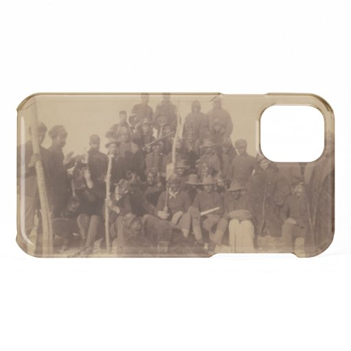 Buffalo Soldiers, First Black Regiment Uncommon iP iPhone 11 Case