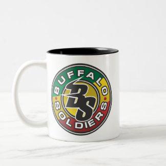 Buffalo Soldiers Lacrosse Rasta Mug