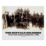Buffalo Soldiers of the 25th Regiment Print